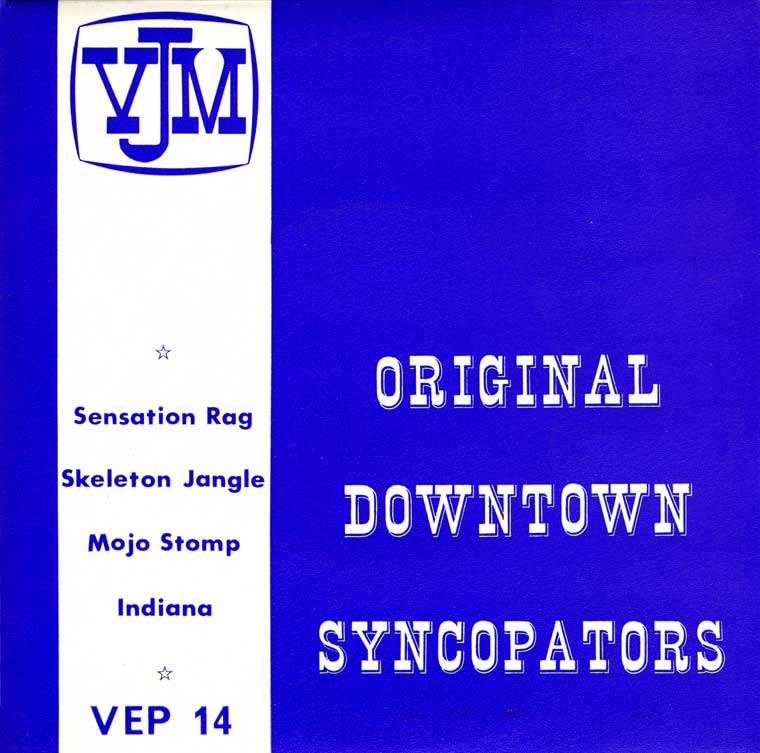 The Original Downtown Syncopators album cover